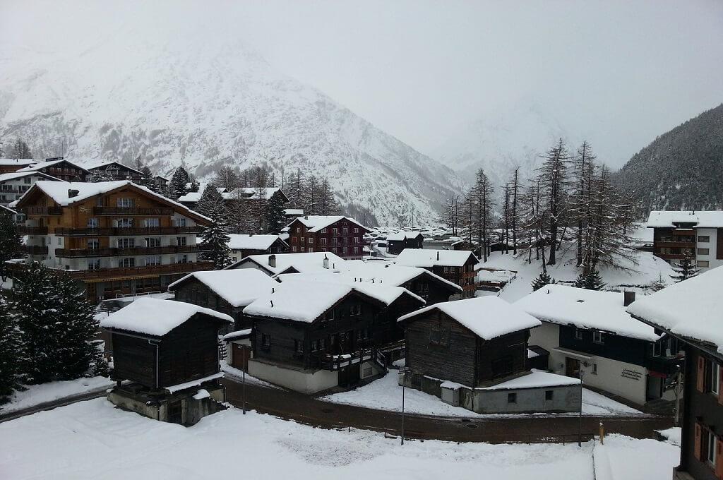 Skiing Zermat Switzerland