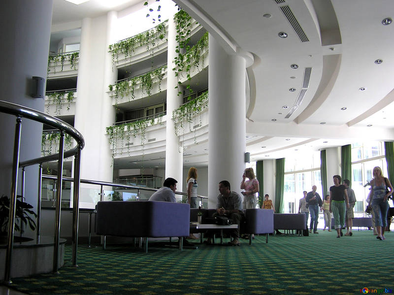 hotel hallway large