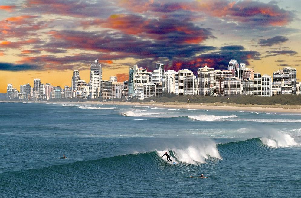 Gold Coast surf