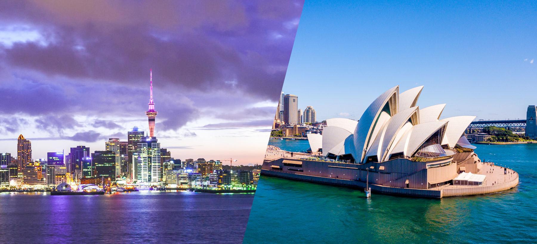 Australia and New Zealand views